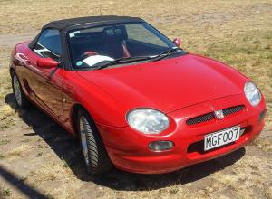MG Car Club Auckland New Zealand - MG Cars, Parts and